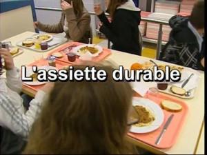 vidéo présentation assiette durable