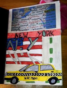 intérieur carnet New York