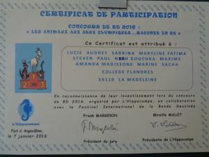 Resultats Concours B.D Angouleme1