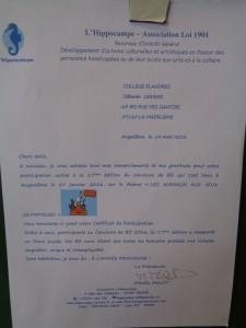 Resultats Concours B.D Angouleme2